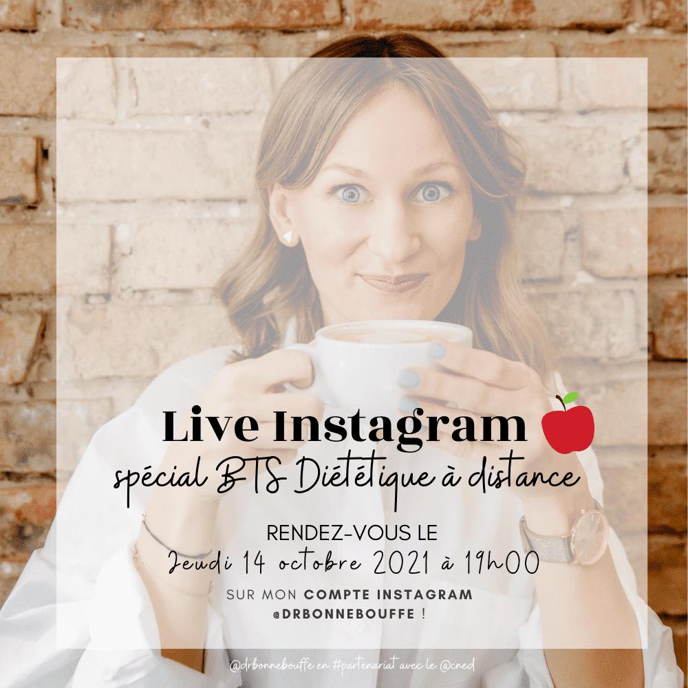 live instagram bts diététique