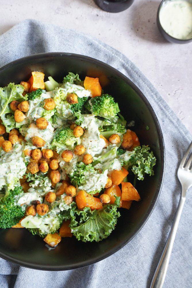 salade d'automne végétarienne